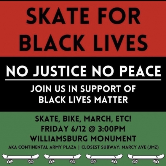 Skate For Black Lives NYC